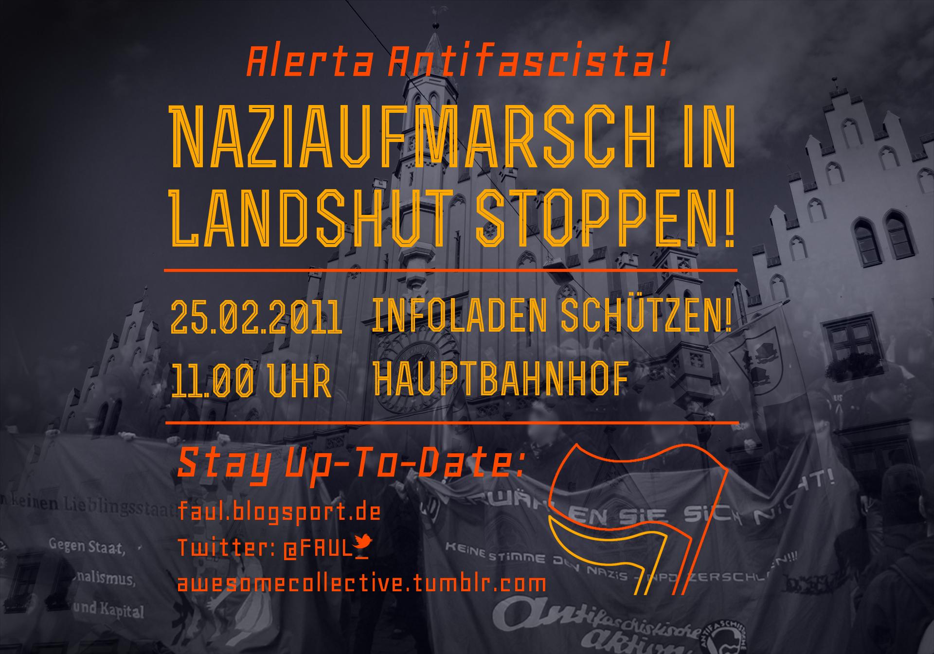 naziaufmarsch blockieren aktuell