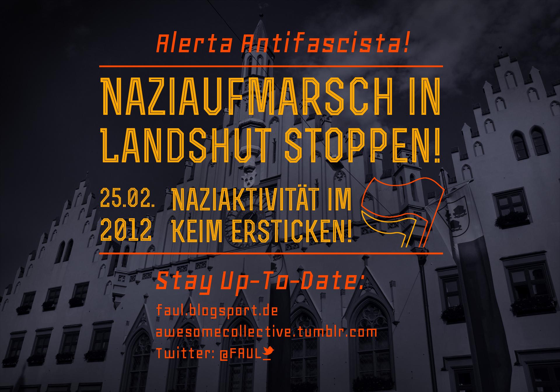 Naziaufmarsch in Landshut blockieren!