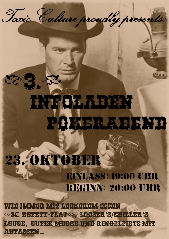 23. Oktober: Infoladen Pokerabend